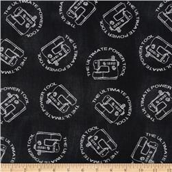 Born To Quilt Sewing Machines Black