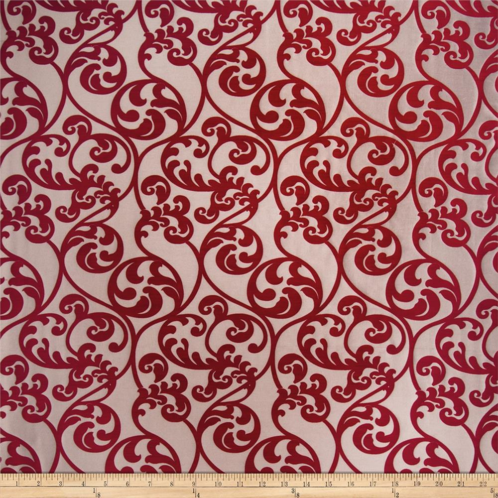 Red home decor fabric shop online at for Decor 55 fabric