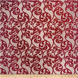 Trend 2463 Faux Silk Crimson