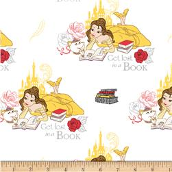 Disney Beauty and the Beast Lost in a Book White