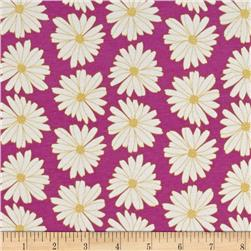 Art Gallery Anna Elise Knit Daisies Lilac Scent