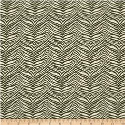 Little Zebra Slub Olive