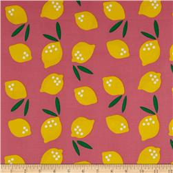 Cloud 9 Organic Corduroy Small World Lemon Drop