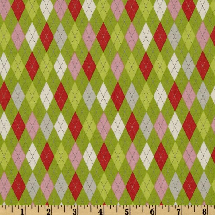 Tinsel Argyle Lime