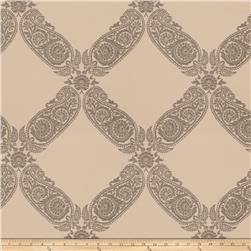 Keller Williams Floral Lattice Jacquard Pewter