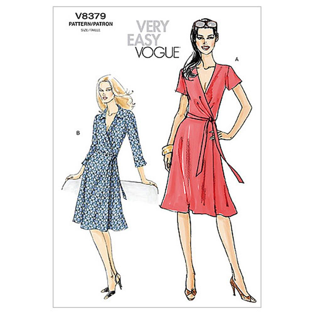 Vogue Misses' Dress Pattern V8379 Size BB0