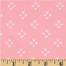 Moda Into the Woods Cozy Stitches Sweet Pink