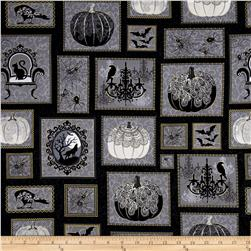 Spellbound Metallic Halloween Boxes Black