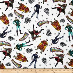 The Big Bang Theory Heroes in Space White/Multi
