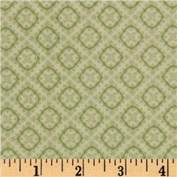 Make Do and Mend Sewing Foulard Light Green