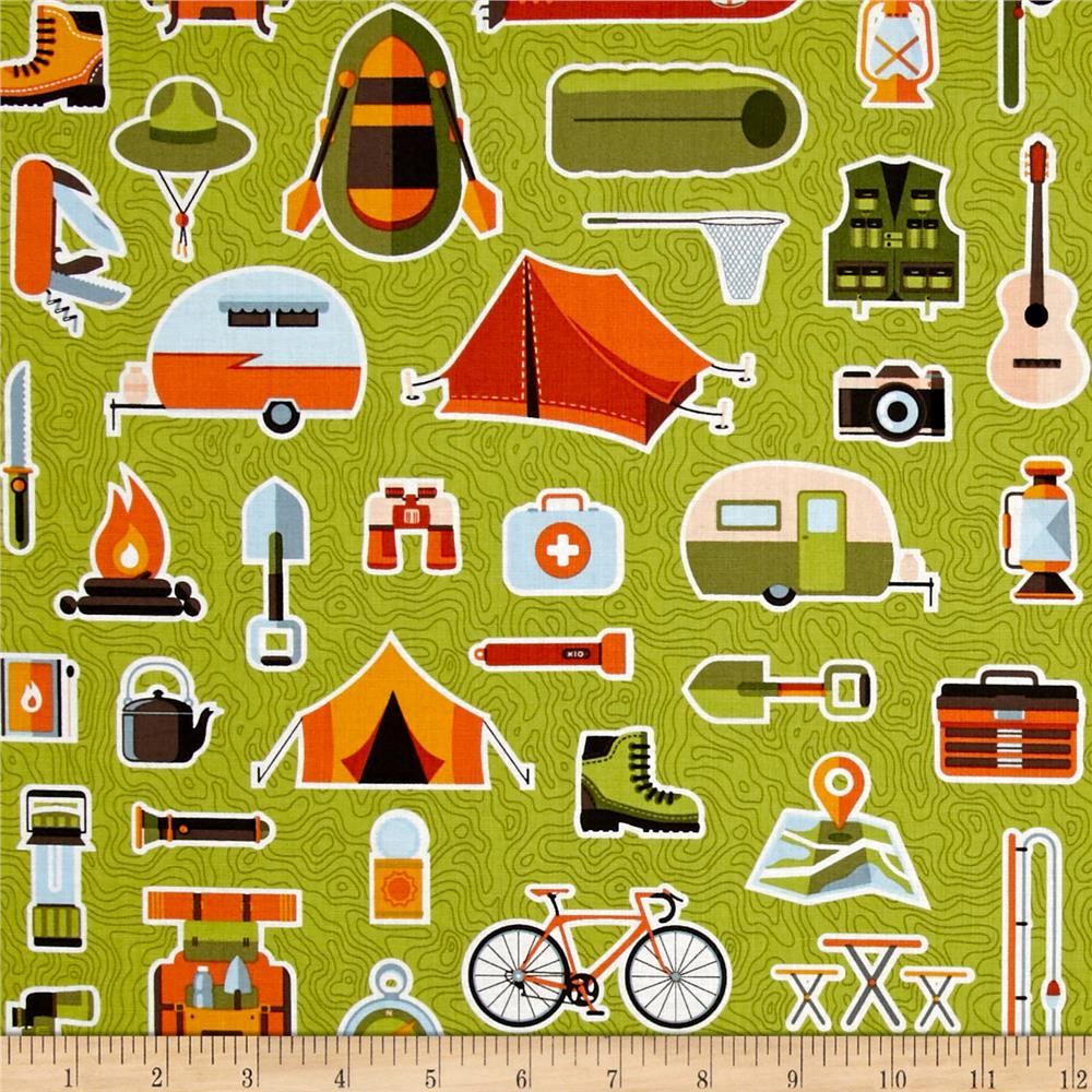 Let's Go Camping Bare Necessities Flagstone