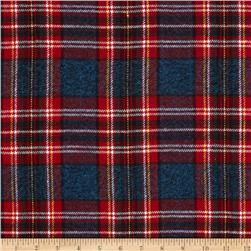 Vancouver Flannel Plaid Blue/Red