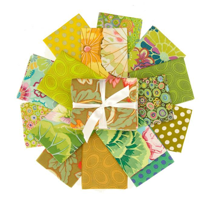 Kaffe Fassett Fat Quarter Bundle Green