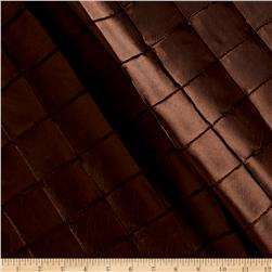 "2"" Diamond Pintuck Taffeta Chocolate"