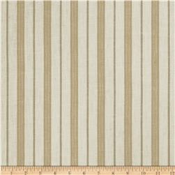 Jaclyn Smith Stamford Stripe Blend Cashew Fabric