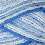 Lion Brand Jamie Yarn (205) Blue Stripes