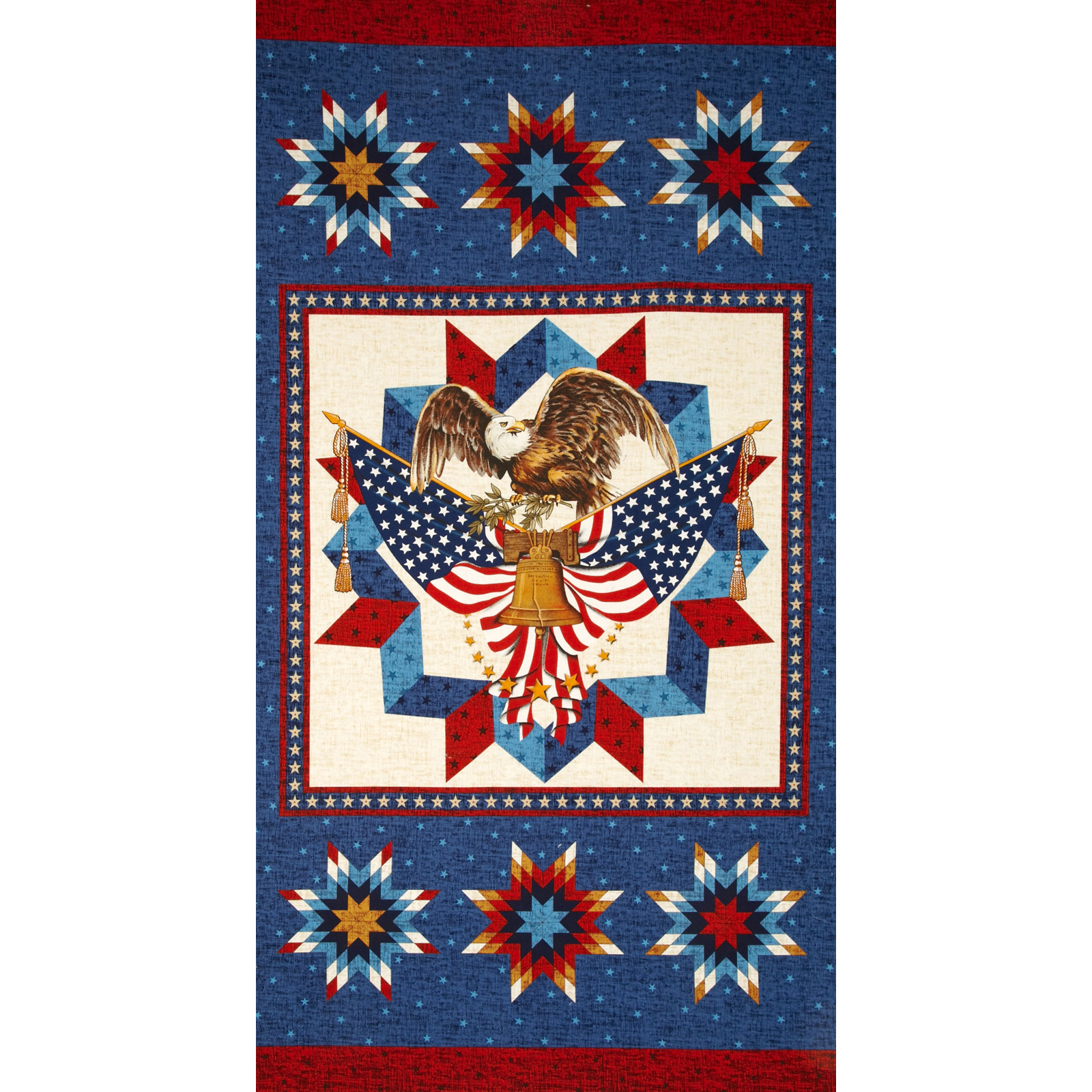 Love & Glory Patriotic Panel Navy