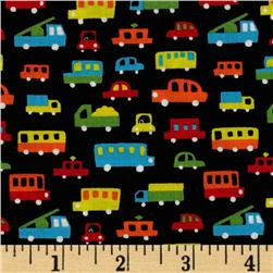 Tiny Prints Cars Black/Multi