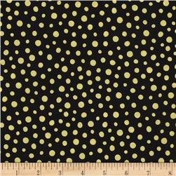 Sunburst Contempo Dots Black
