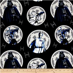 Rogue One: A Star Wars Story Flannel Imperial Circles Multi