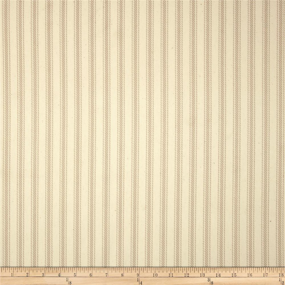Premier Prints Hayes Stripe Maple/Natural