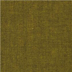 Peppered Cotton Char-Gold Fabric