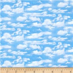 Landscape Medley Clouds Light Blue