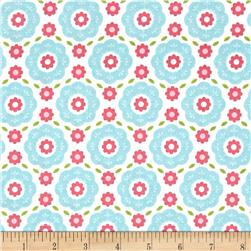 Riley Blake Summer Song 2 Floral Blue