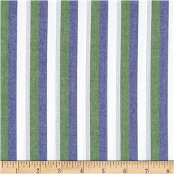 Kaufman Classic Threads Large Stripe Nautical