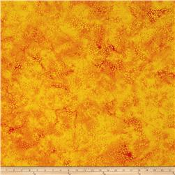Island Batik Mum Orange/Gold