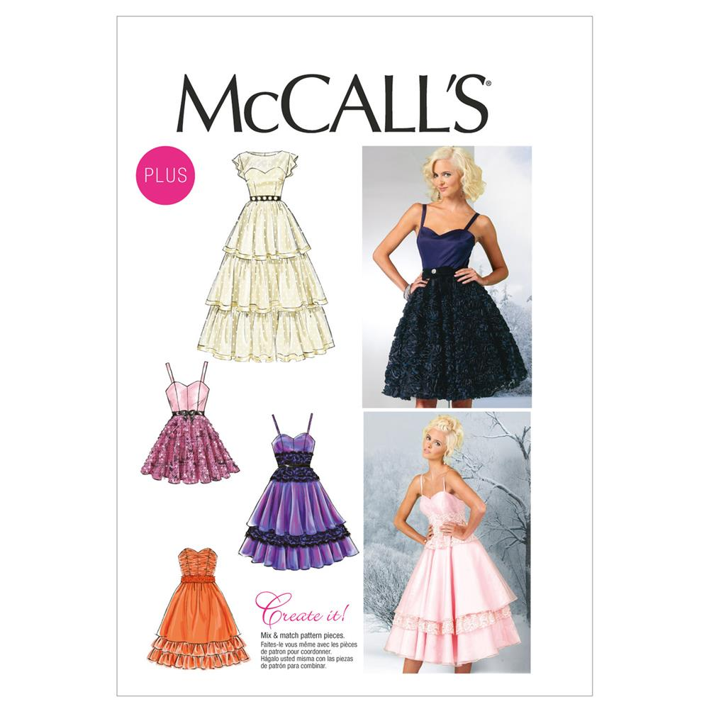 McCall's Misses'/Women's Dresses Pattern M6646 Size B50