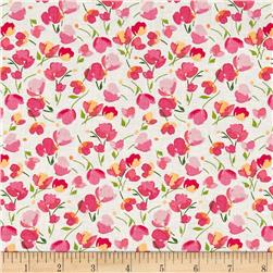 Riley Blake Paige's Passion Floral White