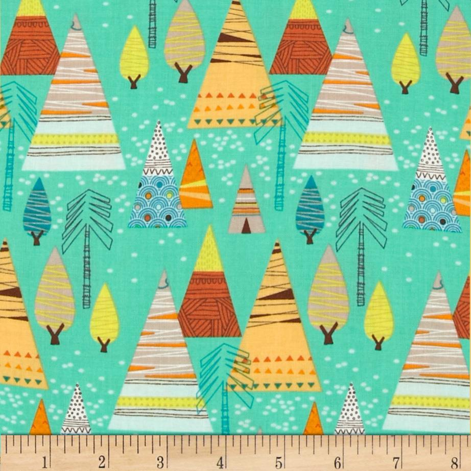 Let's Go Teepees Turquoise