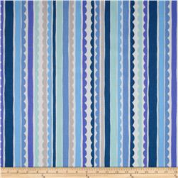 P Kaufmann Saray Stripe Blueberry