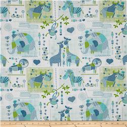 Patchwork Pals Animal White