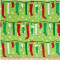 Michael Miller All the Trimmings Stuff Stockings Garland