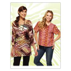 Kwik Sew Misses Tunic Top (3895) Pattern