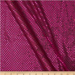 Sequin Dot Mesh Fuchsia