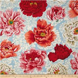 April 13 Collection Brocade Peony Natural