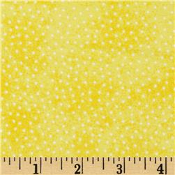 Comfy Flannel Micro Dot Yellow