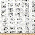 Contempo Zentastic Metallic Confetti White/Grey