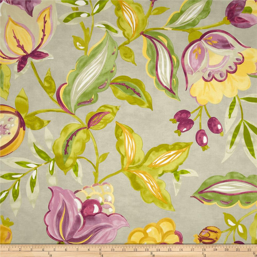 Waverly Twill Modern Poetic Honeydew