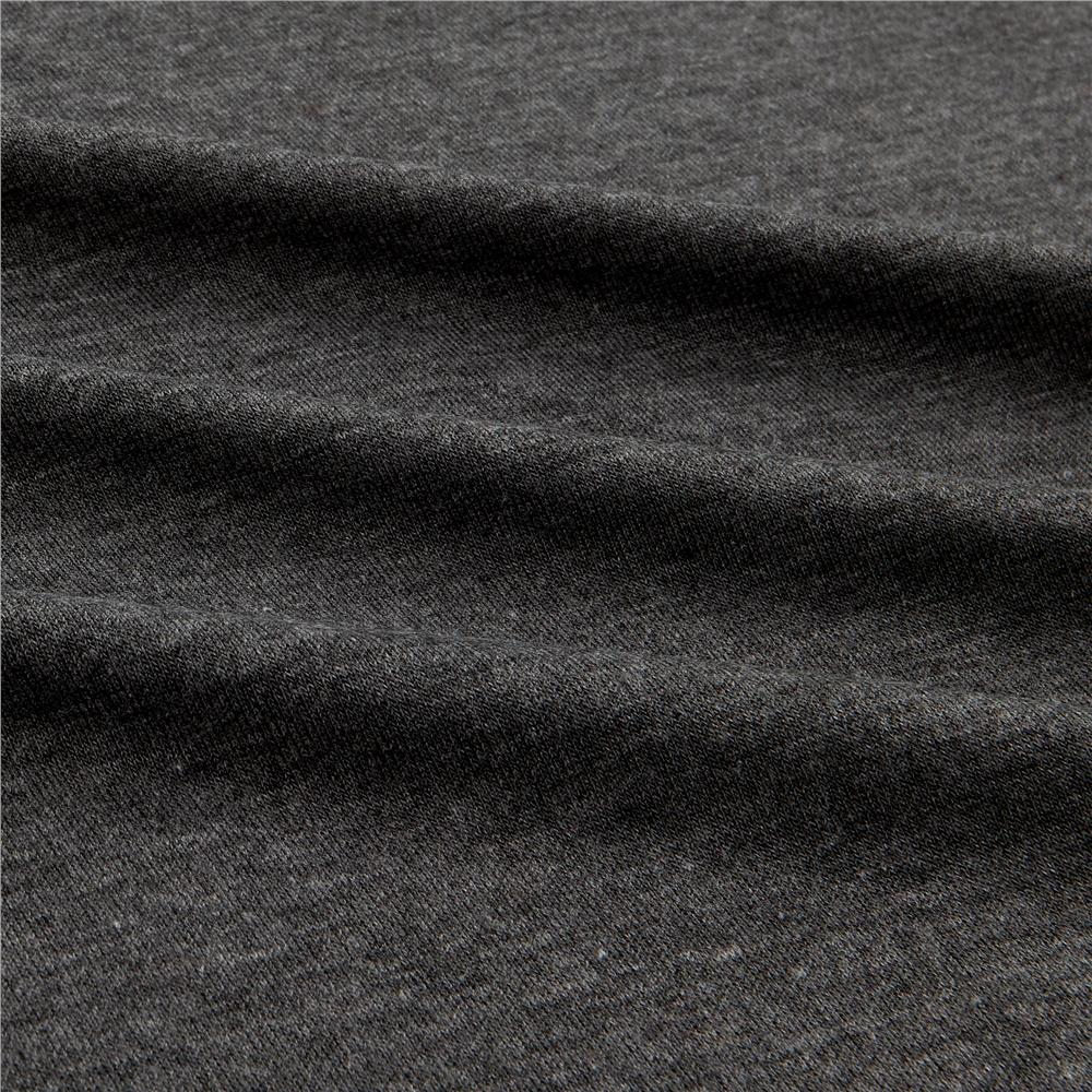 Rayon Spandex Jersey Knit Solid Charcoal Fabric By The Yard