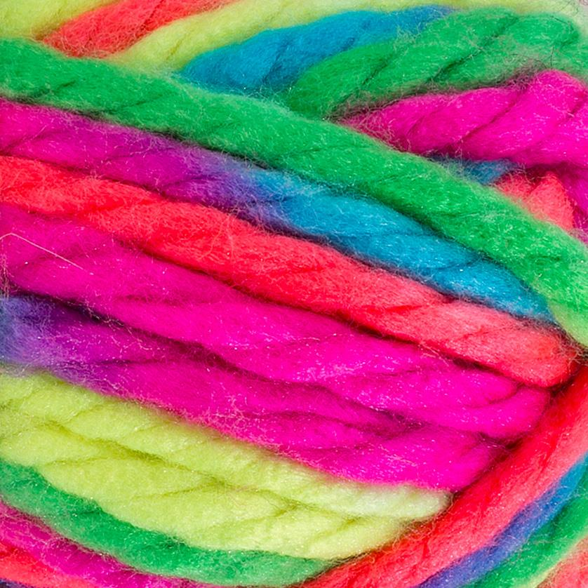 Red Heart Vivid Neon Mix Yarn