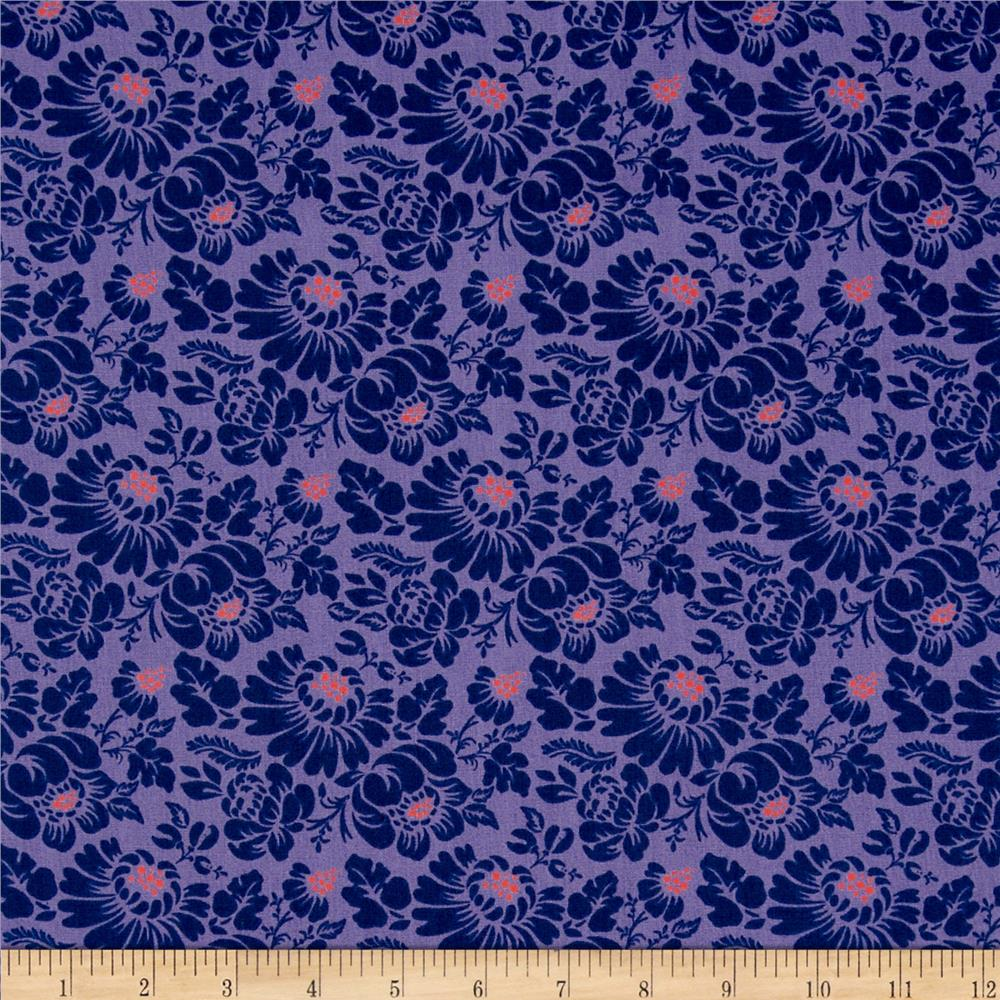 Paisley Please Tapestry Purple