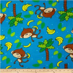 Boys Rock Fleece Monkey Toss Blue