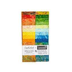 "Timeless Treasures Tonga Batik Happy Hour 2.5"" Strip Packs"