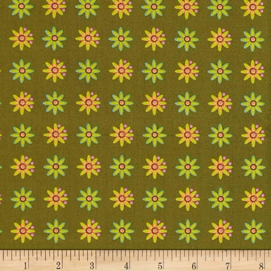 Field Day Small Floral Green