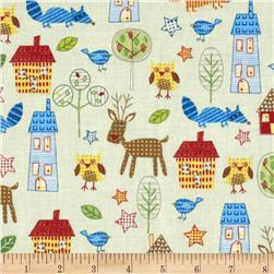 The New Kids on the Block Woodland Animals and Houses Multi