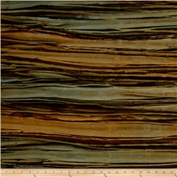 Kaufman Artisan Batiks Patina Handpaints Bold Stripes Moss